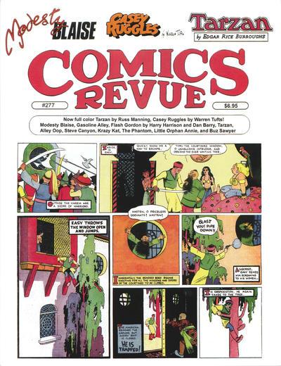 Cover for Comics Revue (Manuscript Press, 1985 series) #277