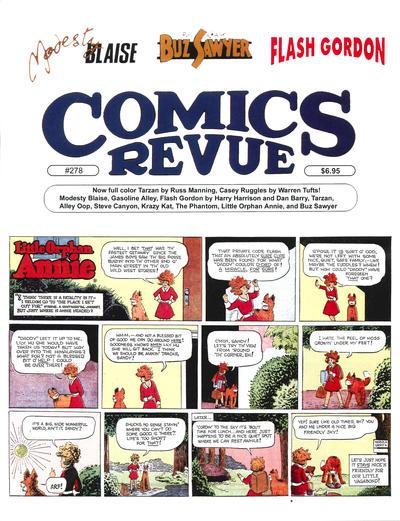 Cover for Comics Revue (Manuscript Press, 1985 series) #278