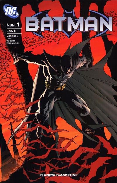 Cover for Batman (Planeta DeAgostini, 2007 series) #1