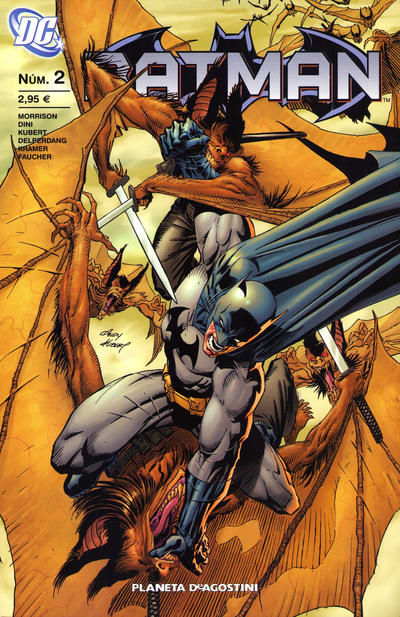Cover for Batman (Planeta DeAgostini, 2007 series) #2