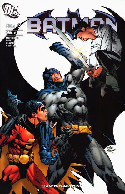 Cover for Batman (Planeta DeAgostini, 2007 series) #3