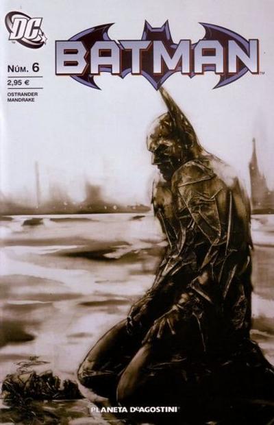 Cover for Batman (Planeta DeAgostini, 2007 series) #6