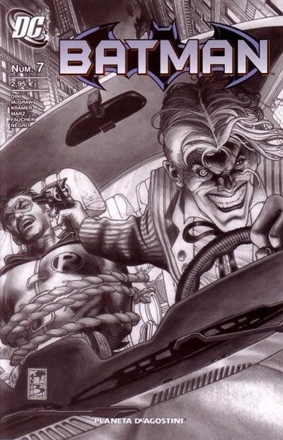 Cover for Batman (Planeta DeAgostini, 2007 series) #7