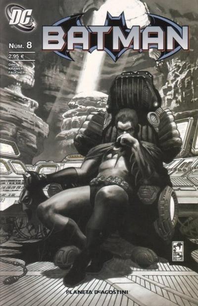 Cover for Batman (Planeta DeAgostini, 2007 series) #8