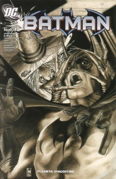 Cover for Batman (Planeta DeAgostini, 2007 series) #15