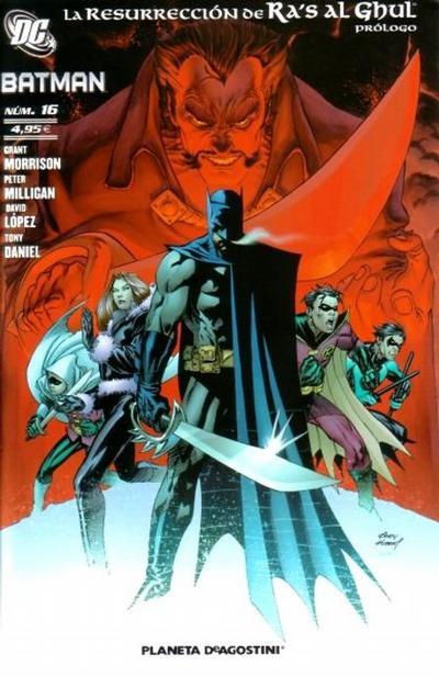 Cover for Batman (Planeta DeAgostini, 2007 series) #16