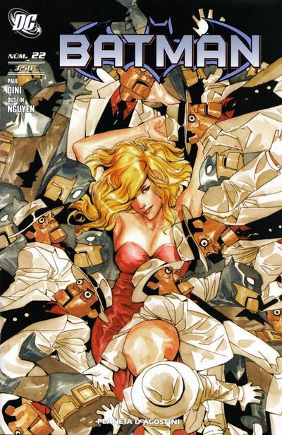 Cover for Batman (Planeta DeAgostini, 2007 series) #22