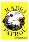 Cover for Radio Patrol (Pacific Comics Club, 2001 series)