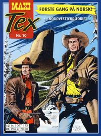 Cover Thumbnail for Maxi Tex (Hjemmet / Egmont, 2008 series) #10