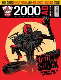 Cover Thumbnail for 2000 AD (Rebellion, 2001 series) #1657