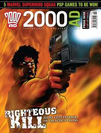 Cover Thumbnail for 2000 AD (Rebellion, 2001 series) #1658