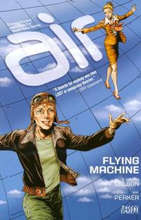 Cover Thumbnail for Air (DC, 2009 series) #2 - Flying Machine