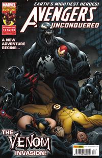 Cover Thumbnail for Avengers Unconquered (Panini UK, 2009 series) #12