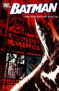 Cover Thumbnail for Batman: Arkham Asylum Special (DC, 2009 series)