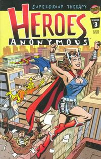 Cover Thumbnail for Heroes Anonymous (Bongo, 2003 series) #3