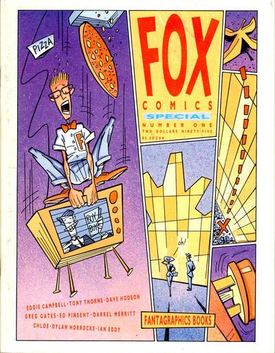 Cover for Fox Comics Special (Fox Comics / Fantagraphics Books Inc., 1989 series) #1