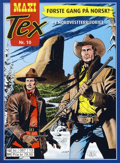 Cover for Maxi Tex (Hjemmet / Egmont, 2008 series) #10
