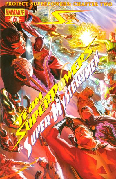Cover for Project Superpowers: Chapter Two (Dynamite Entertainment, 2009 series) #6 [Cover A]