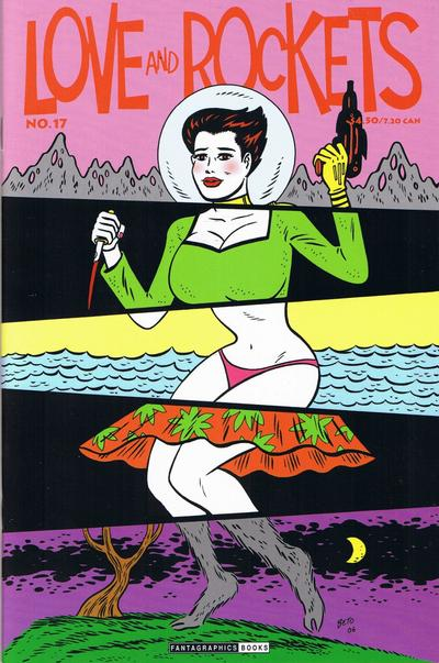 Cover for Love and Rockets (Fantagraphics, 2000 series) #17