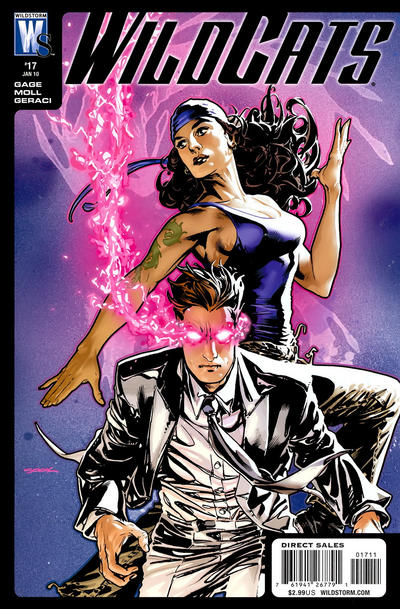 Cover for Wildcats (DC, 2008 series) #17
