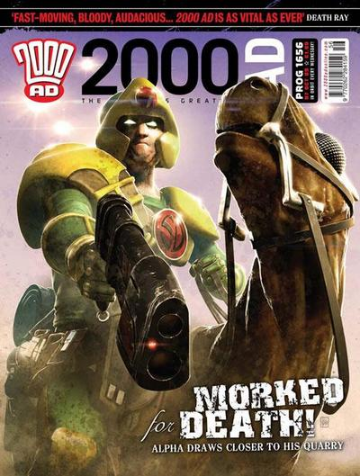 Cover for 2000 AD (Rebellion, 2001 series) #1656