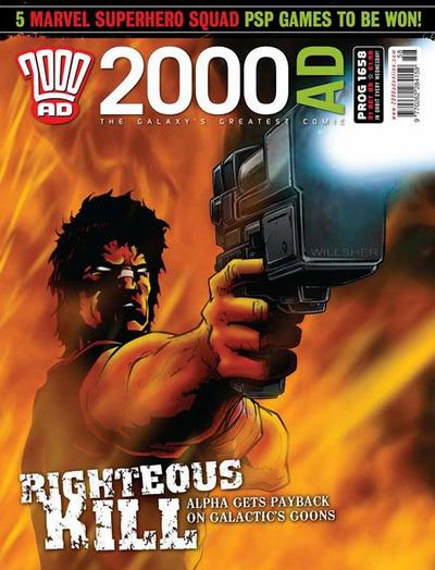 Cover for 2000 AD (Rebellion, 2001 series) #1658