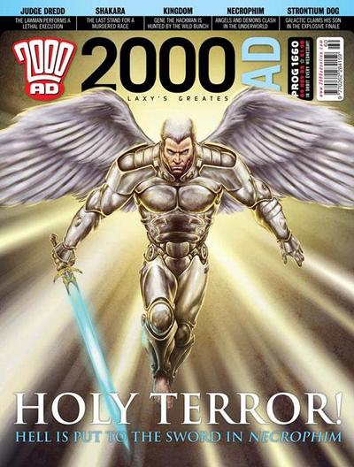 Cover for 2000 AD (Rebellion, 2001 series) #1660