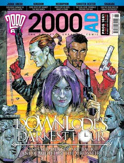 Cover for 2000 AD (Rebellion, 2001 series) #1661