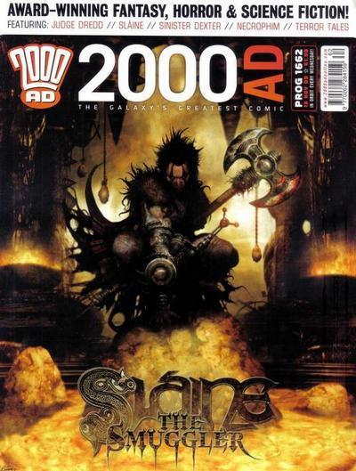 Cover for 2000 AD (Rebellion, 2001 series) #1662