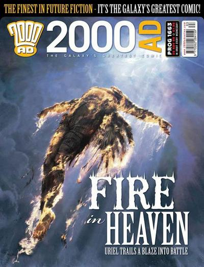Cover for 2000 AD (Rebellion, 2001 series) #1663