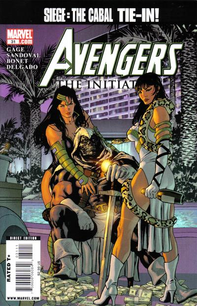 Cover for Avengers: The Initiative (Marvel, 2007 series) #31 [Standard Cover]