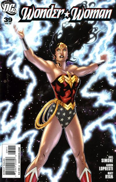 Cover for Wonder Woman (DC, 2006 series) #39