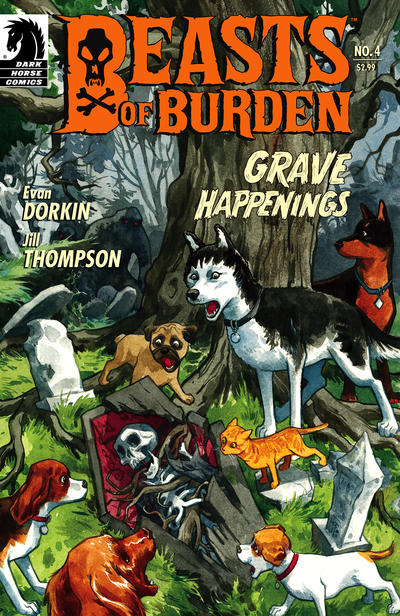 Cover for Beasts of Burden (Dark Horse, 2009 series) #4