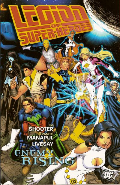 Cover for Legion of Super-Heroes: Enemy Rising (DC, 2009 series)