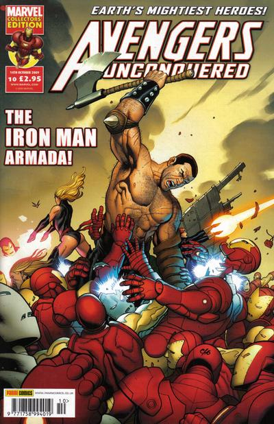 Cover for Avengers Unconquered (Panini UK, 2009 series) #10
