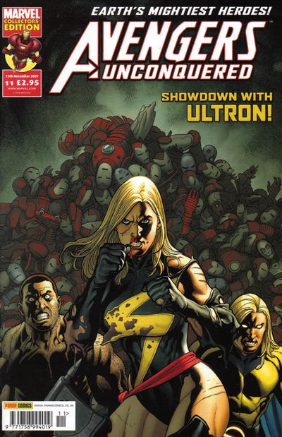 Cover for Avengers Unconquered (Panini UK, 2009 series) #11