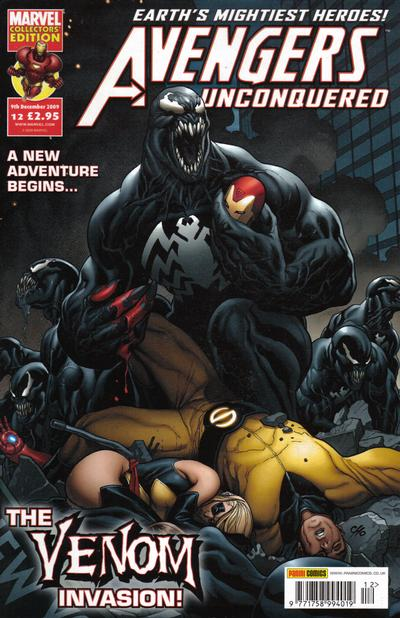 Cover for Avengers Unconquered (Panini UK, 2009 series) #12