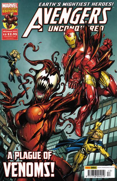 Cover for Avengers Unconquered (Panini UK, 2009 series) #13