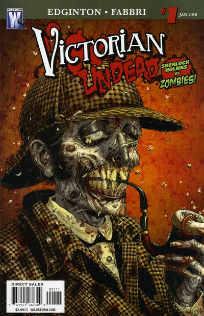 Cover for Victorian Undead (DC, 2010 series) #1 [Standard Cover]
