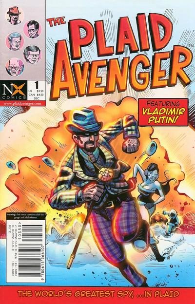 Cover for Plaid Avenger (NX Comics, 2008 series) #1