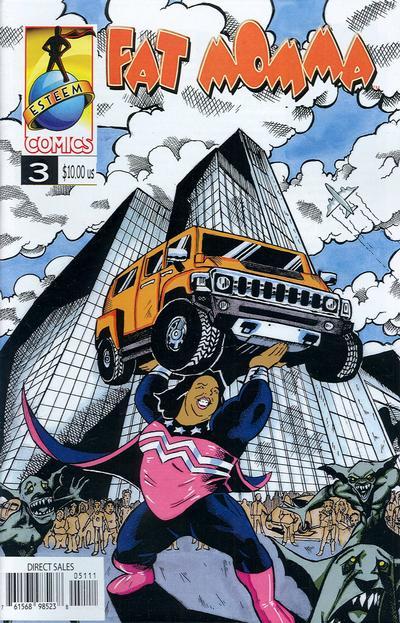 Cover for Fat Momma (Esteem Comics, 2006 series) #3