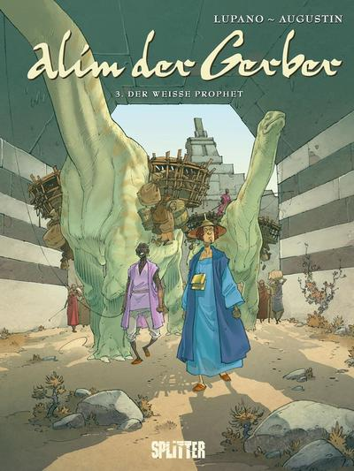 Cover for Alim der Gerber (Splitter Verlag, 2009 series) #3 - Der weisse Prophet