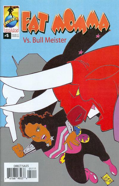 Cover for Fat Momma (Esteem Comics, 2006 series) #4
