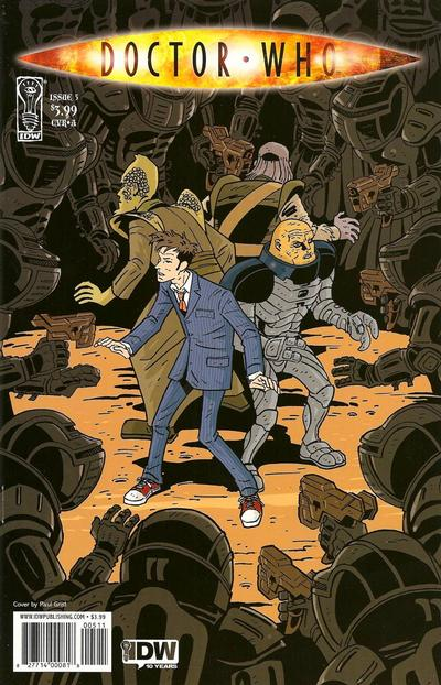 Cover for Doctor Who (IDW, 2009 series) #5 [Cover A]