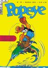 Cover for Popeye (Editora Brasil-América [EBAL], 1953 series) #25