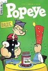 Cover for Popeye (Editora Brasil-América [EBAL], 1953 series) #28