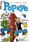 Cover for Popeye (Editora Brasil-América [EBAL], 1953 series) #30