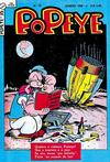 Cover for Popeye (Editora Brasil-América [EBAL], 1953 series) #35