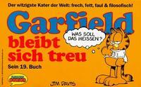 Cover Thumbnail for Garfield (Wolfgang Krüger Verlag, 1984 series) #19