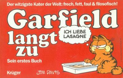Cover for Garfield (Wolfgang Krüger Verlag, 1984 series) #1